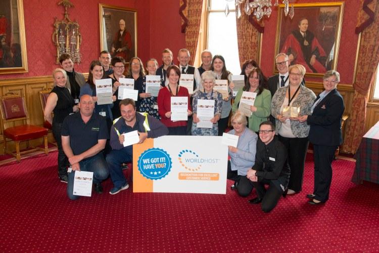 03/05/18 World Host celebration award ceremony for Aberdeen City Council staff