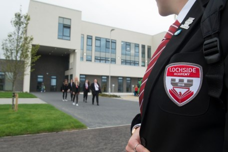 23/08/18 First day at new Lochside Academy-