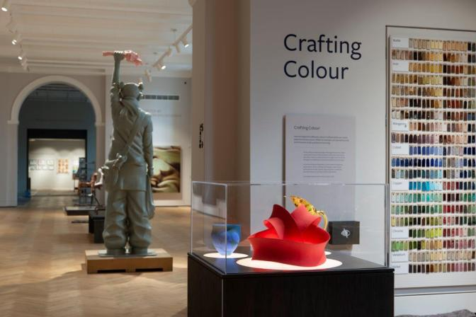Aberdeen Art Gallery - Human Presence gallery from Crafting Colour gallery © Aberdeen City Council (Aberdeen Art Gallery & Museums)